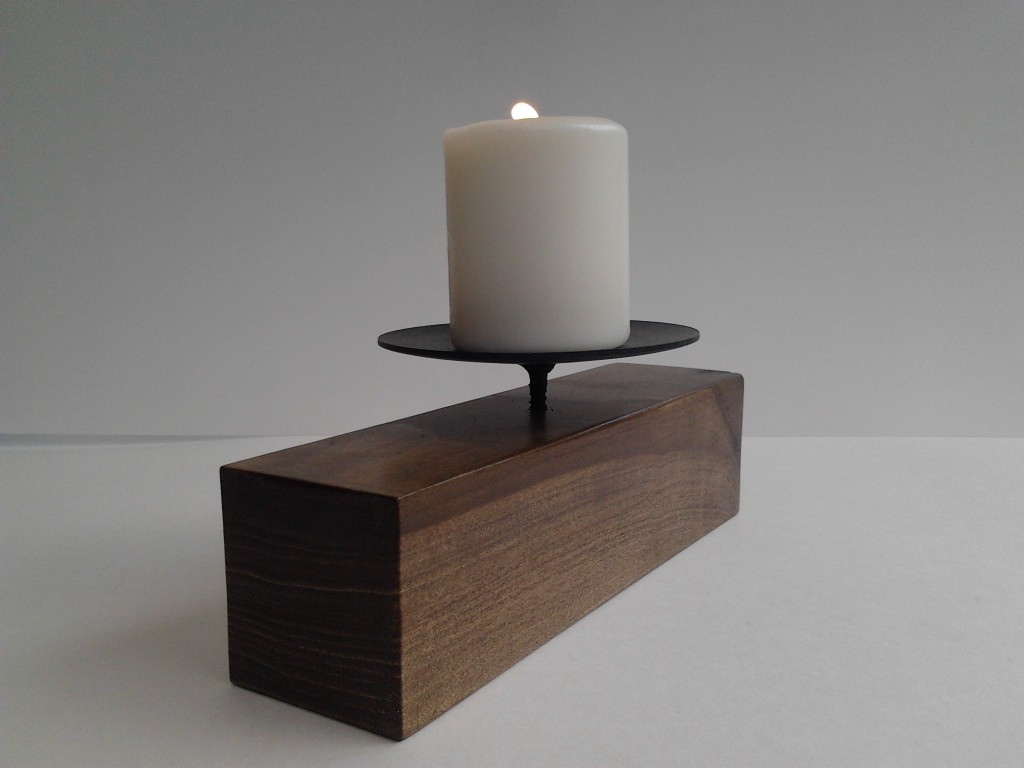 The Block Candle Holder